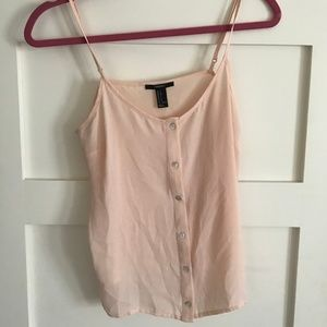 Forever 21 Button-Down Camisole